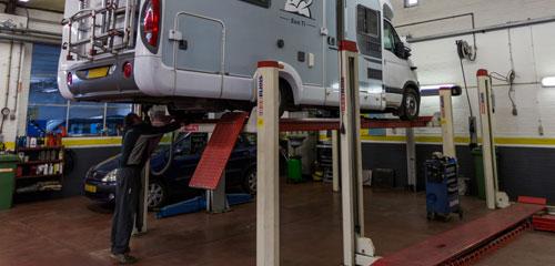 Renault Vaassen - Werkplaats